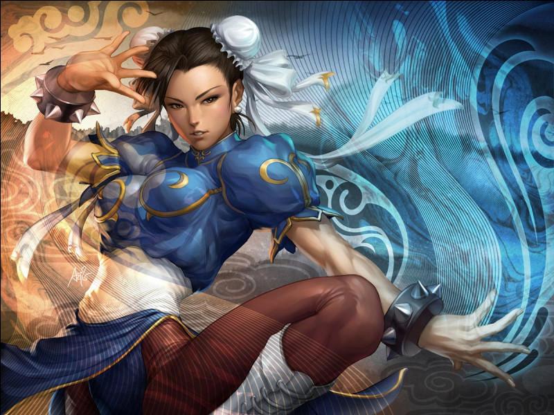 Dans quel jeu de combat est apparue Chun Li ?