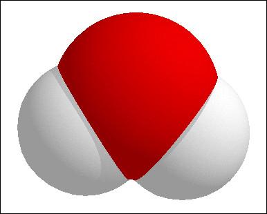 C'est une molécule d'eau.