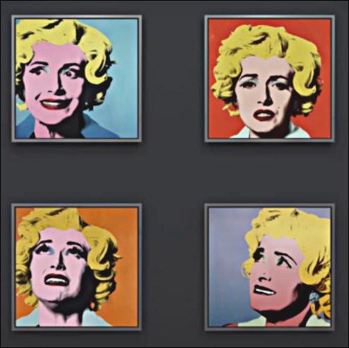 """Les """"Marilyns"""" de Warhol ont l'air de """"flipper grave"""" : pourquoi donc ?"""