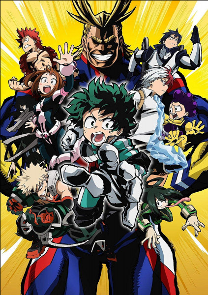 Vous voulez être moi, oui, alors allons vite dans l'univers de ''My Hero Academia''. Comment s'appelle le pouvoir que All Might donne à Izuku Midoriya ?