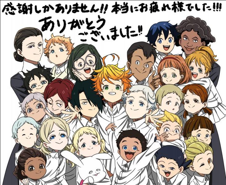 """Ce manga qui fait tellement parler de lui vous le connaissez ? C'est ''The Promised Neverland'' ! Ces orphelins sont gardés par une femme qu'ils appellent """"Maman"""", mais quel est son vrai nom ?"""