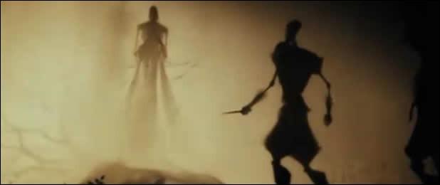 """Quel était le nom complet du frère ayant obtenu la cape d'invisibilité dans le conte des """"Trois frères"""" ?"""