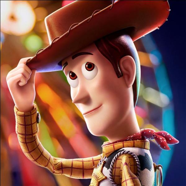 """Comment s'appelle le cow-boy, héros et ami de Buzz l'éclair, dans """"Toy Story"""" ?"""