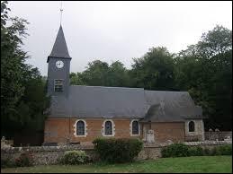 Nous sommes dans l'ancienne région Haute-Normandie devant l'église Saint-Ouen de Bosc-Bénard-Commin. Ancienne commune, elle se situe dans le département ...
