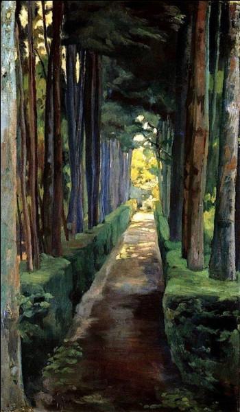 """Qui a peint """"Promenade des mélancoliques"""" ?"""