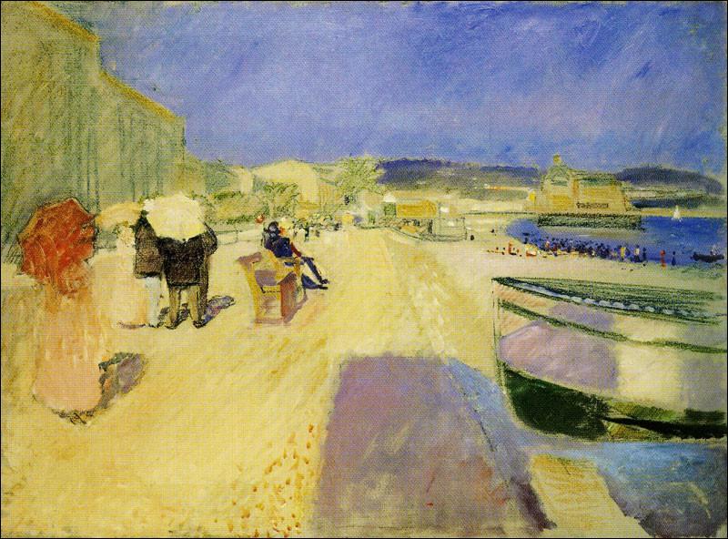"""Qui a peint """"Après-midi sur la promenade des Anglais"""" ?"""