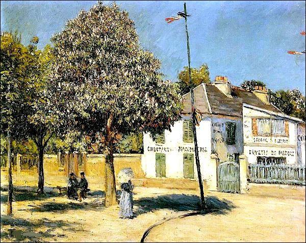 """Qui a peint """"Promenade à Argenteuil"""" ?"""