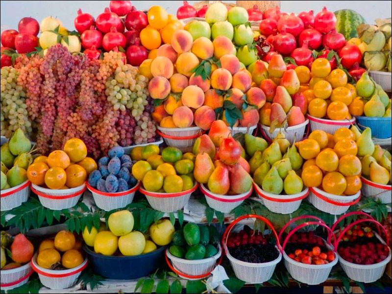 Lesquels de ces fruits sont les symboles d'Arménie ?