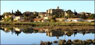 Cette commune du département de l'Hérault, peuplée de 3200 habitants et située au bord d'un étang entre Sète et Montpellier, c'est ...