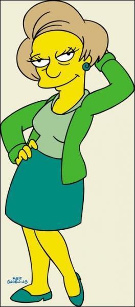 Comment s'appelle la maîtresse de Bart ?