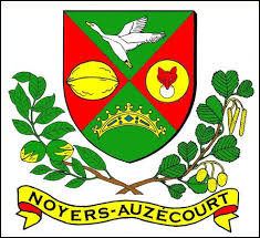 Je vous présente le blason de Noyers-Auzécourt. Village du Grand-Est, il se situe dans le département ...