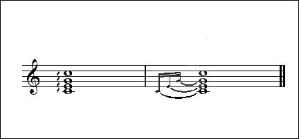Notation musicale (re) > Que peut bien indiquer le signe en forme de vaguelettes verticales ?