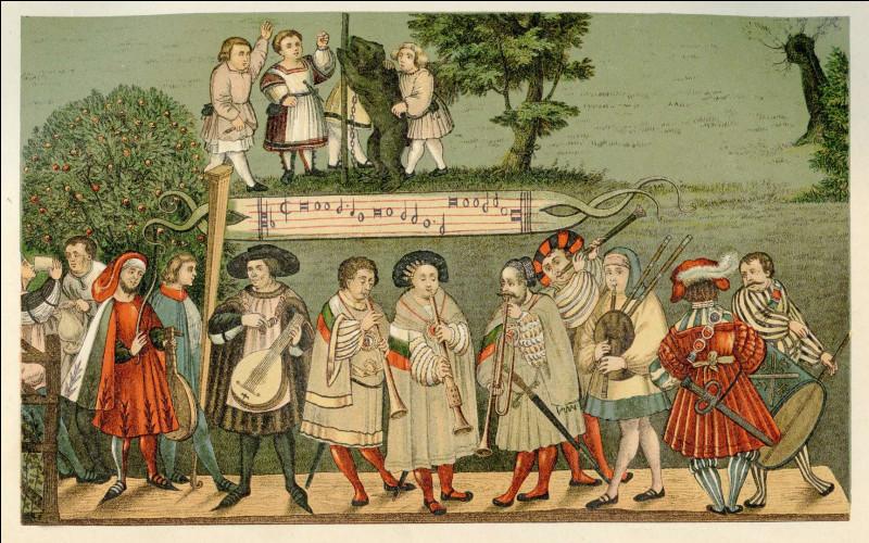 Au Moyen Âge, un colporteur était...
