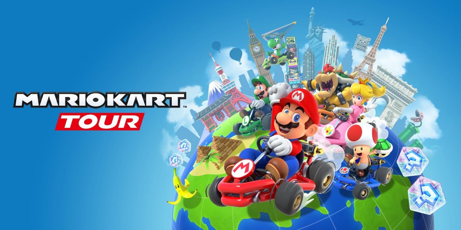 Mario Kart Tour - Saisons 3, 4, 5, 6