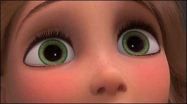 Ces yeux sont de la princesse...