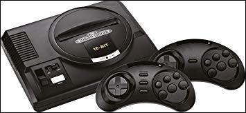 Quel est le nom de cette console Sega ?
