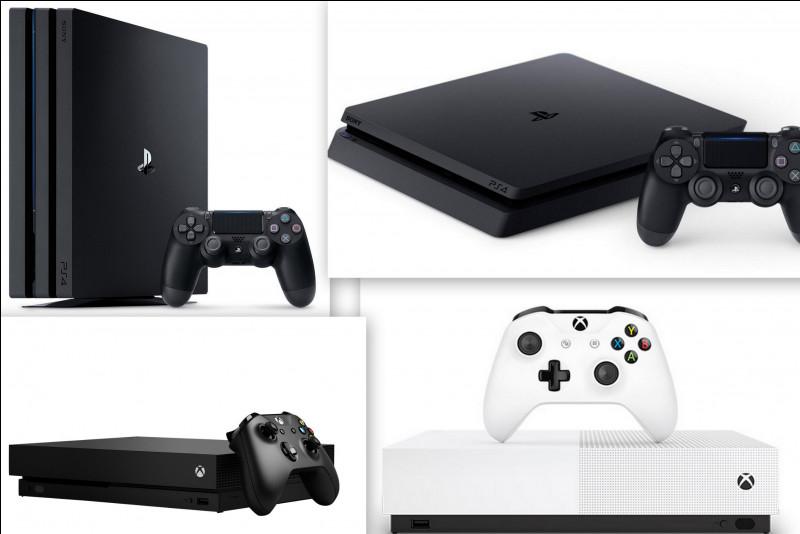 Quelle console, parmi celles ci-dessous, est celle qui propose les plus hautes performances ?