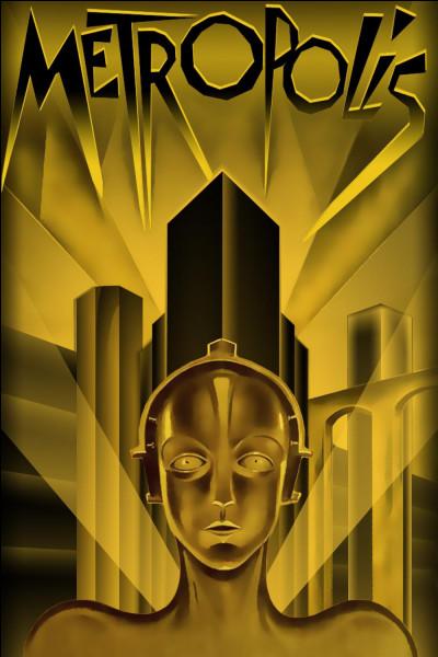 """""""Metropolis"""" est un film muet réalisé par Fritz Lang."""