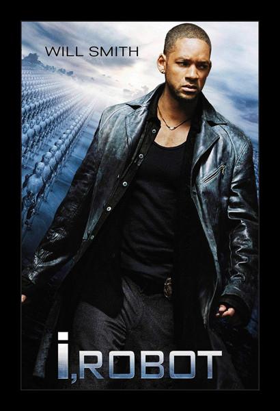 """""""I, Robot"""" est un film joué par Will Smith."""