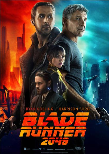 """""""Blade Runner"""" est un film joué par Harrison Ford."""