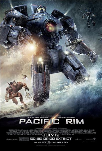 """""""Pacific Rim"""" est un long-métrage mis en scène par Guillermo del Toro."""