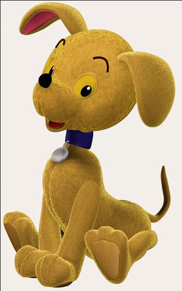 Dans quel dessin animé apparaît ce chien ?
