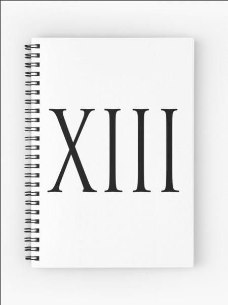 Comment s'écrit 6 en chiffres romains ?