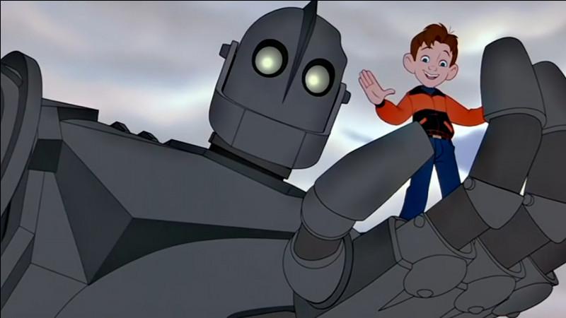 Quel est le nom de ce robot qui se lie d'amitié avec un enfant ?