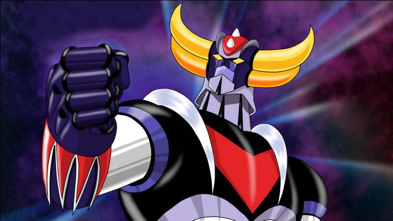 """Retrouve le robot """"Goldorak""""."""