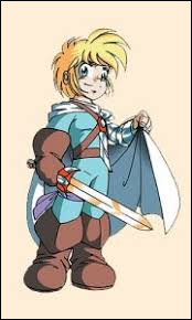 Quel est ce personnage avec une épée ?