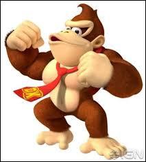 Quel est ce singe qui fait son costaud ?