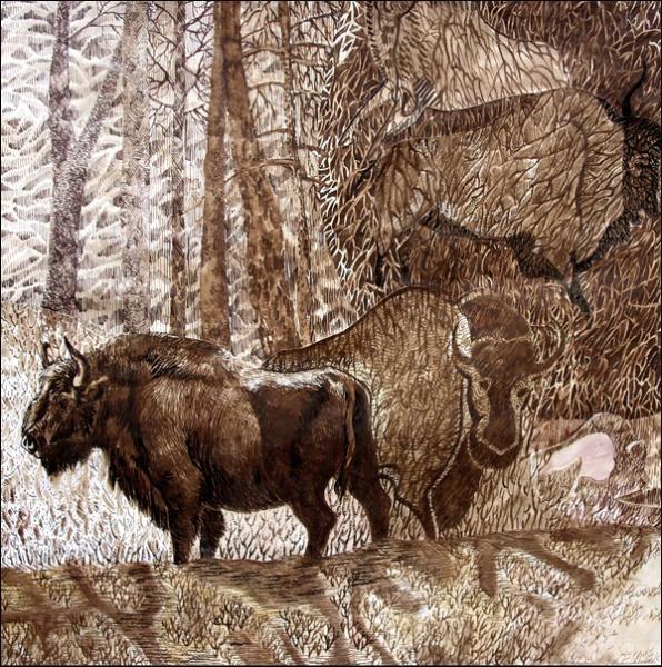Quand a disparu le dernier auroch à peu près ?