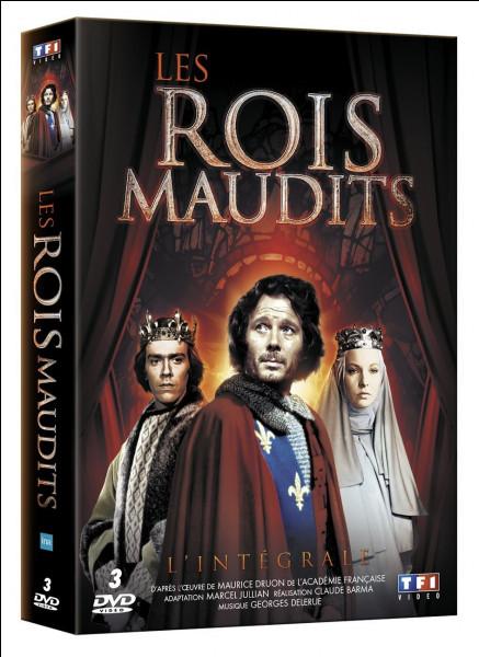 """Qui a écrit la saga historique """"Les Rois maudits"""" ?"""