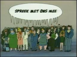 """Quand j'étais petit, on pouvait suivre cette émission à la RTBF ! Que veut dire """"Spreek met ons mee"""" ?"""