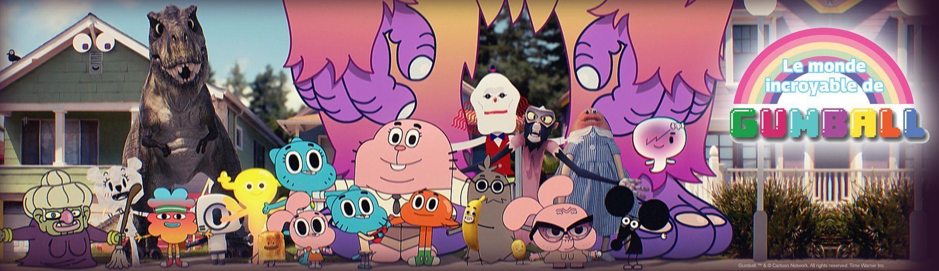 Quel personnage de ''Gumball'' es-tu ?