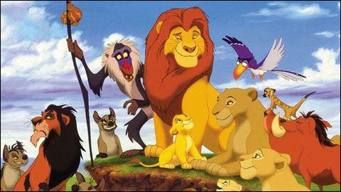 """Dans """"Le Roi lion"""", Zazu est.."""