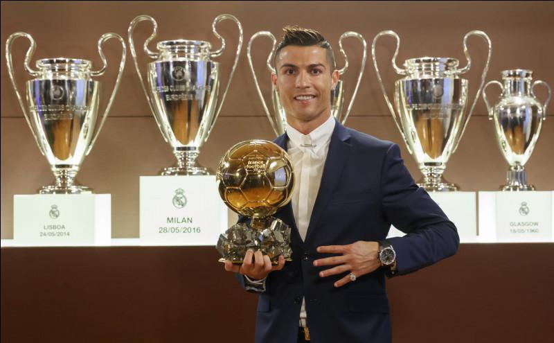Comment s'appelle la personne ayant eu le plus de Ballons d'or ?