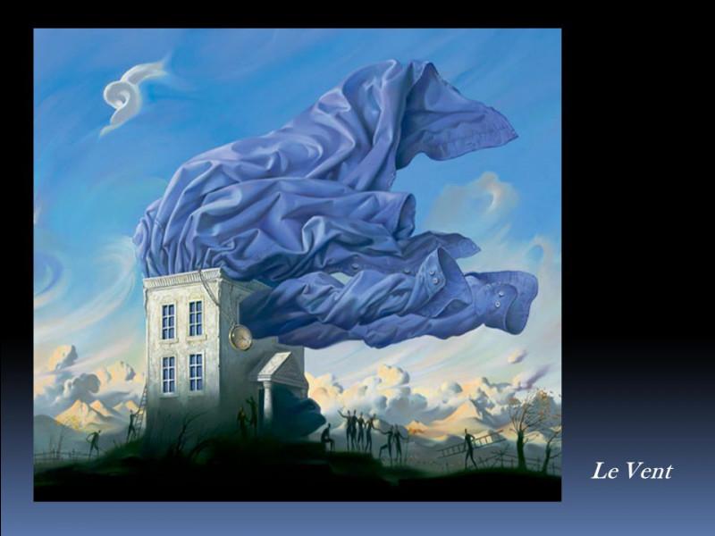 À qui doit-on cette représentation du vent ?