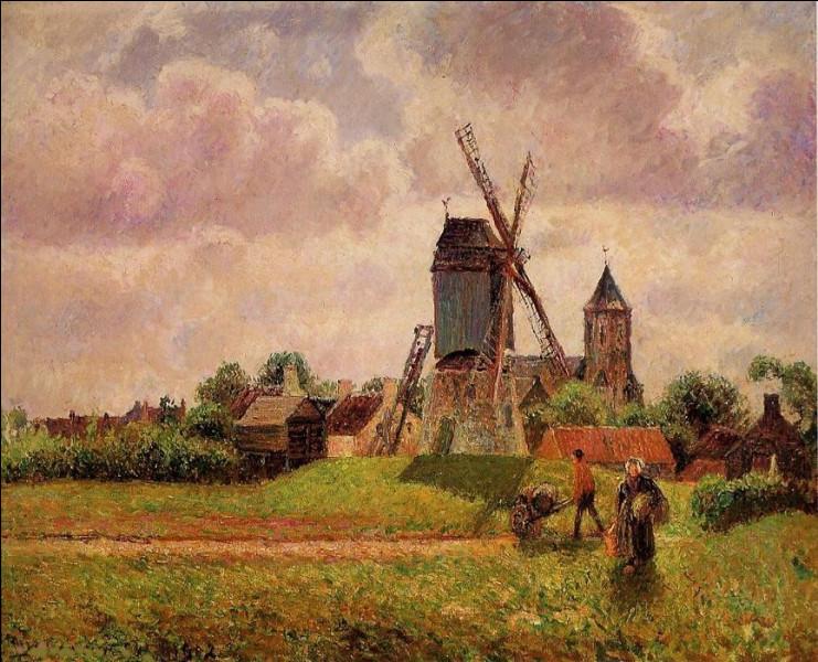 """Qui a peint """"Moulin à vent en Belgique"""" ?"""