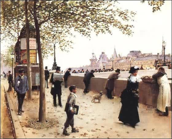 """Qui a représenté ce """"Jour de vent place de la Concorde"""" ?"""