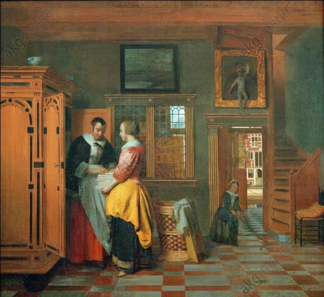 """Qui a peint """"L'Armoire à linge"""" ?"""