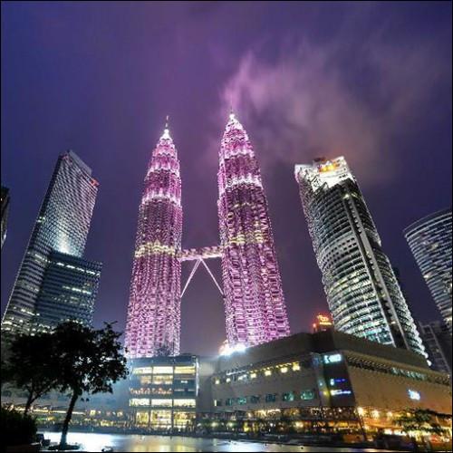 Ces édifices atteignent une hauteur de 451,9 m et sont les plus hautes structures doubles au monde. Je vous invite à prendre la passerelle qui relie les deux gratte-ciel entre les 41e et 42e étages.Trouvez le nom de ces deux bâtiments dont le coût de construction est estimé à 1,6 milliard $ US.