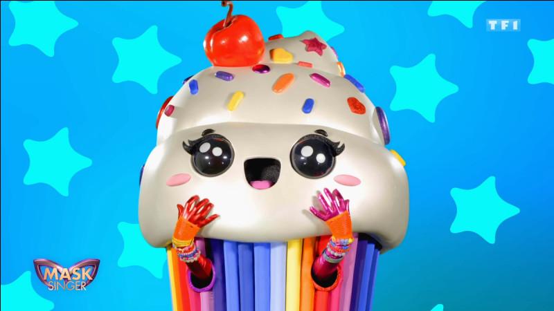 8e éliminée (Émission 5).Qui était sous le masque du cupcake ?