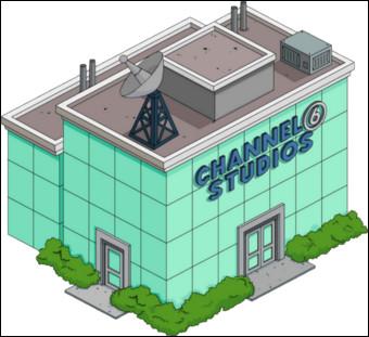 Comment s'appelle le présentateur télé de la chaîne Channel 6 ?