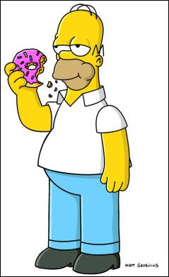Quel est l'objet qu'Homer Simpson a coincé dans le cerveau ?
