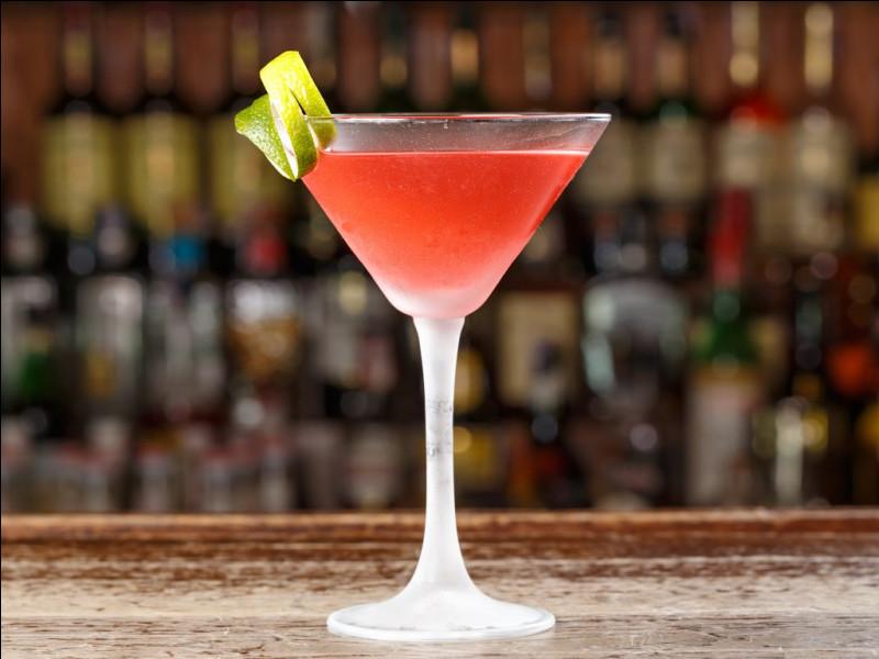 """Alcool principal : Vodka Ingrédient (s) : Orange, Canneberge, ...Origine : Etats-Unis A savoir : Cocktail popularisé par """"Sex and the City"""". Quel est le nom de ce cocktail ?"""