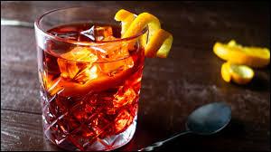 Alcool principal : RhumIngrédient (s) : Vermouth rouge, campari, orange.Origine : Italie A savoir : Le cocktail porte le nom du comte qui a eu l'idée de rajouter du gin au mélange.Quel est le nom de ce cocktail ?
