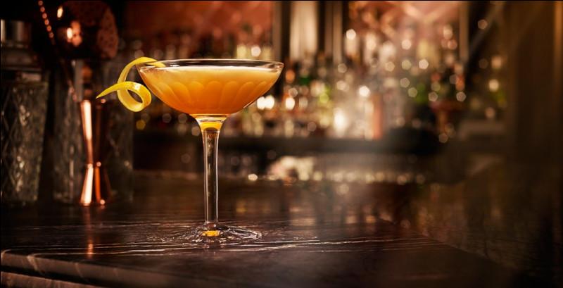 Alcool principal : Cognac Ingrédient (s) : Cointreau, jus de citron.Origine : Angleterre ou FranceA savoir : Pour réaliser ce cocktail il faut givrer la moitié du verre avant. Quel est le nom de ce cocktail ?