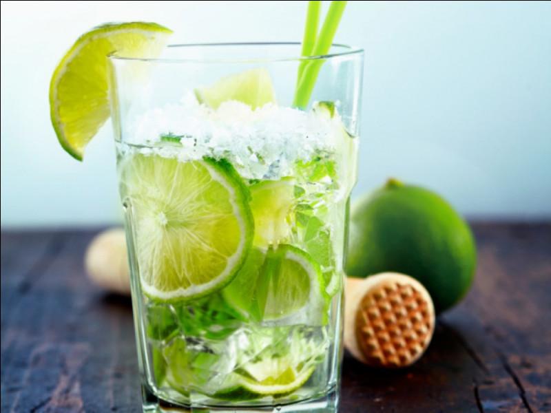 Alcool principal : CachaçaIngrédient (s) : Citron vert, sucre de canne, ...Origine : Brésil A savoir : Ce cocktail aurait été créé pour guérir la grippe espagnole.Quel est le nom de ce cocktail ?