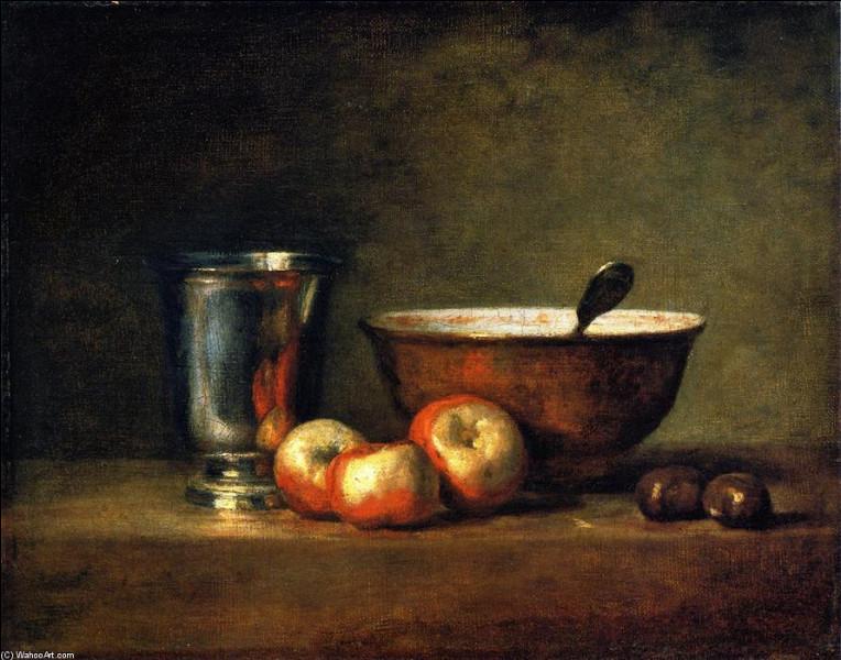 Marrons et châtaigniers en peinture